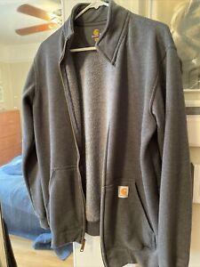 Carhartt full zip original fit men's sweatshirt jacket