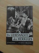 Die Liebesnächte des Herkules,llustrierte Film-Bühne, Kino Erotica von 1960, seh
