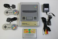 Nintendo Super Famicom Console & Kurby Deluxe SFC SNES Japan Import K1316M