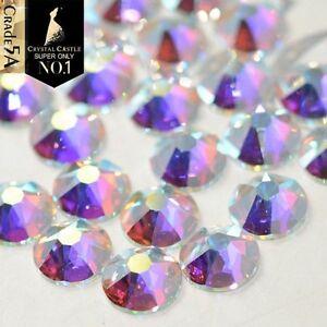Swarovski crystals AB - HOTFIX flat back stones gems for design x 150 pcs HOT