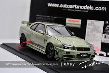 AUTOart 1:18 nissan NISMO R34 GT-R Z-TUNE