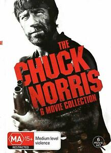 CHUCK NORRIS COLLECTION 6 Movies collection (DVD Region 4) NEW+SEALED