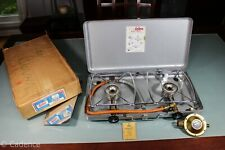 Vintage 1962 Enders Camp Stove Two Burner Diplomat 9545 West German W Box Nr Mnt