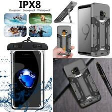 Samsung Galaxy S9/S8 Plus/ Note 8 New Shockproof Hybrid Armor Rugged Cover Case