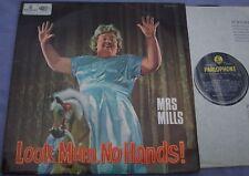 MRS MILLS Look Mum No Hands! UK PARLOPHONE B/Y 1/1 G1/G1 VERY FIRST CLEAN COPY
