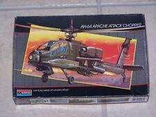 Maquette MONOGRAM 1/48ème  AH-64 APACHE ATTACK CHOPPER n°5443 /1986
