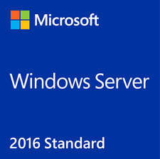 MICROSOFT WINDOWS SERVER 2016 Standard 64BIT P243061P