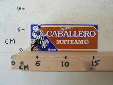 STICKER,DECAL CABALLERO YAMAHA MX-TEAM SUPPORTER MOTOCROSS CROSS C