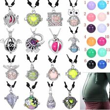 16MM Sound Ball Bell Locket Pendant Necklace Jewelry For Baby Pregnant Womens