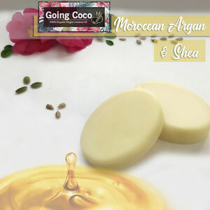 100% Organic Coconut Oil_MOROCCAN ARGAN OIL_Conditioner Bar_Damaged Hair