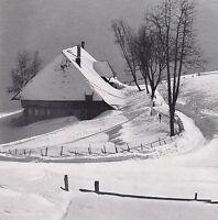 Muggenbrunn im Schwarzwald - Bauernhof im Schnee - um 1950 oder früher