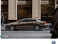 2014 Volkswagen CC Passat 24-page Sales Brochure Catalog - VW car