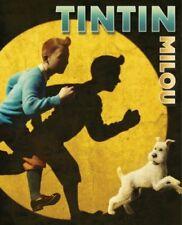 TINTIN Milou BD Hergé plaid polaire modèle B 120x150 cm