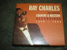 RAY CHARLES Complete Country & Western Recordings 1959-1986 (4-CD) SET W/BOOK Pr