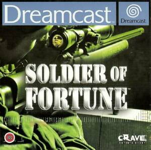 Dreamcast - Soldier of Fortune (ENGLISH) (boxed) (very good condition) (used)