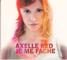 """CD MAXI DIGIPACK 1 T AXELLE RED """"JE ME FACHE""""  (PROMO)"""
