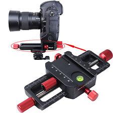 150mm Macro Focusing Rail Slider Close-up Shooting Camera Holder for Tripod Head
