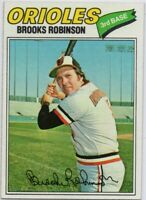1977 Topps #285 Brooks Robinson Pack Fresh Mint Baltimore Orioles FREE SHIPPING