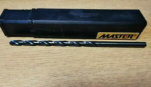 1/4 in HSS Long Series Drill Straight Shank