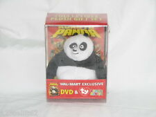KUNG FU PANDA DVD and PO TY BEANIE BABY COLLECTIBLE GIFT SET NEW WITH TAGS