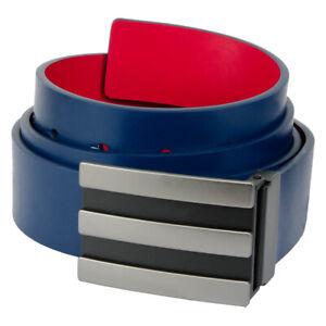 "adidas 3-Stripes Reversible Leather Adjustable Golf Belt  ""CLEARANCE"""