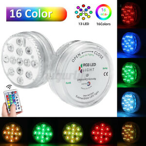 RGB Submersible Light Colorful With IR Remote Control for Swimming Pool Party R