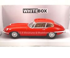 JAGUAR E-TYPE 1962 ROUGE 1:24 WHITEBOX