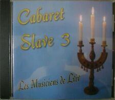 CD Les Musiciens de Lviv SLAVE 3  Музики Зі Львова 2003 PARIS Folk World FRANCE