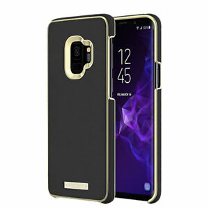 Kate Spade Wrap Case for Galaxy S9 - Black / Gold