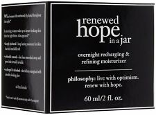 Philosophy Renewed Hope In  A Jar Night Cream 60ml/2oz