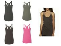 "Next Level Women's Tri-Blend Racerback Sleeveless Tank Top 6733 NEW ""4 COLORS"""