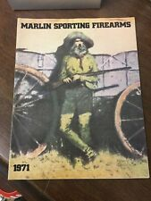 Original 1971 Marlin Sporting Firearms 32 pages Brochure Excellent Cond.