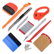 Vinyl Car Wrap Squeegee Tucking Gasket Kit Blade Cutter Decals Sign Making Tools