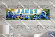 Personalized/Customized Rio 2 Movie Name Poster Wall Art Decoration Banner