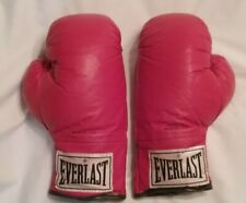 Everlast Boxing Fighting Sparring Gloves 14 oz Made in Usa Red