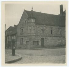 Verneuil-sur-Avre (Eure). Normandie. Tirage argentique circa 1920.