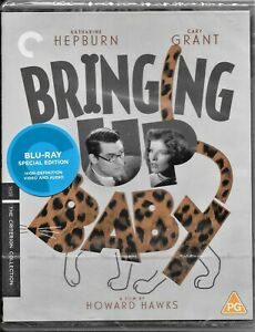 Bringing Up Baby Criterion Collection(Cary Grant)Region B Blu-ray Free Post