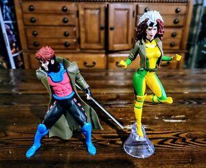 Kotobukiya (2019)  X-Men 92 Gambit & Rogue Two Pack Artfx+ Statue (1:10 Scale)