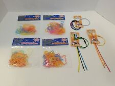 NIP Silly, Cool, Zany Glow Bandz 4 Assorted Packs and 3 Connectors Packs