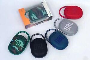 NEW JBL Clip 4 Portable Bluetooth Speaker - Waterproof & Dust-proof