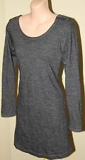 Womens Charcoal Wool Dress - Guess Dresses by Maurice Marciano - Size S