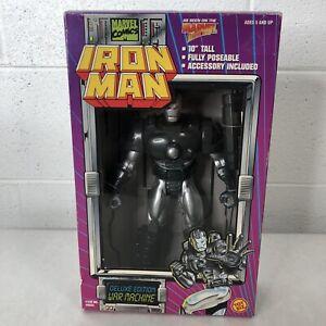 NEW 1994 WAR MACHINE IRON MAN MARVEL COMICS DELUXE EDITION FIGURE TOYBIZ #46603