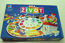 Milton Bradley Game of Life / MB Hra život Czech Version All Pieces Present