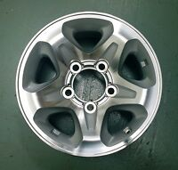 Landcruiser UTE Toyota Genuine alloy wheel 70 series (VDJ 76 78 79 V8) x 1 ONLY