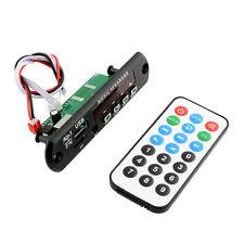 Car MP3 Player WMA DIY Board 12V Audio Module USB TF Radio + Remote Controller