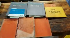 Lot of (8) Mercedes-Benz Unimog Workshop Manual 1 & 2 with Various Other Manuals