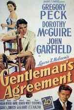 Film Gentlemans Agreement 01 A3 Box Canvas Print