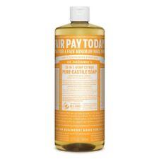 Dr Bronner Citrus Castile Liquid Soap - 946ml