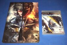 Metal Gear Rising: Revengeance + Collector's Edition Guide Book (PS3) NEW