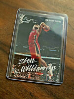 2019-20 Panini Chronicles LUMINANCE #143 ZION WILLIAMSON RC Rookie Pelicans
